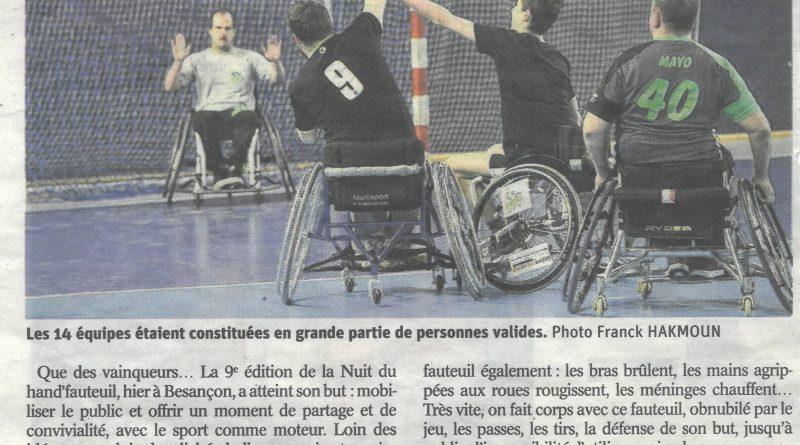 Hand'Fauteuil Handball