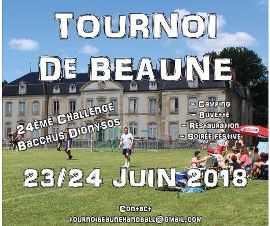 TOURNOI DE BEAUNE 23 ET 24 JUIN